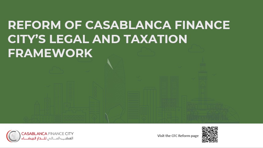 Presentation of CFC's legal and taxation reform