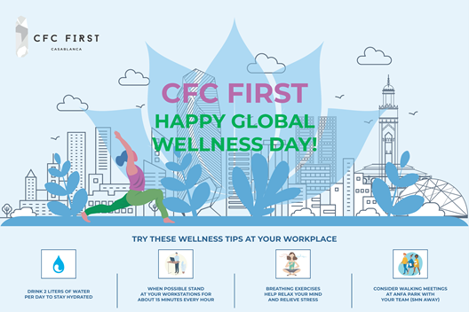 CFC Global Wellness Day - Complimentary massage at CFC First