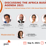 Unveiling of PwC's 24th Annual Global CEO Survey: The Africa Business Agenda 2021